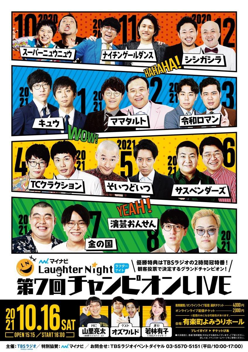 マイナビLaughter Night 第7回チャンピオンLIVE