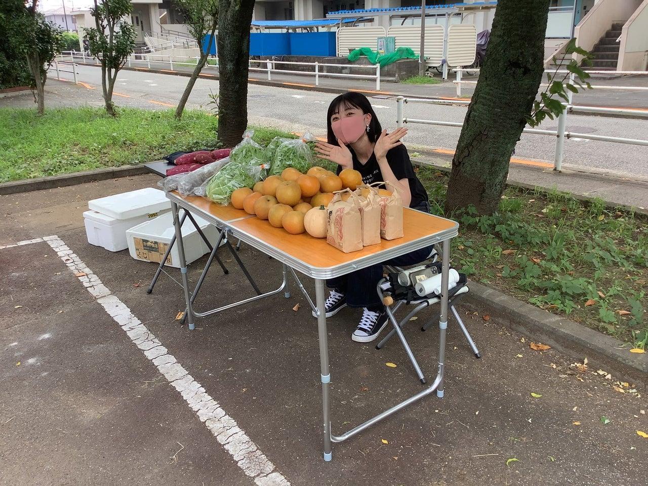 昭和女子大学の学生たちによる移動販売がこれから始まります。(都営喜多見二丁目アパート)